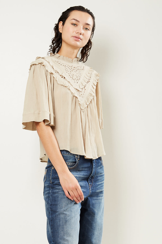 Etoile Isabel Marant - Idoa light embroidered top