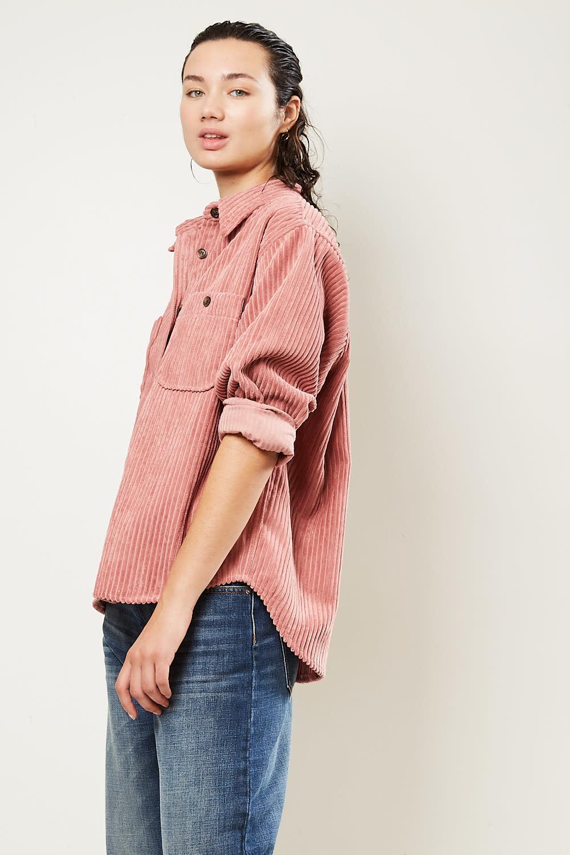 Etoile Isabel Marant - Dexo velvet costard shirt