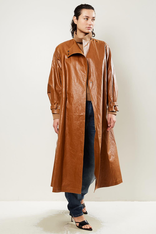 Isabel Marant Corly coated trench coat