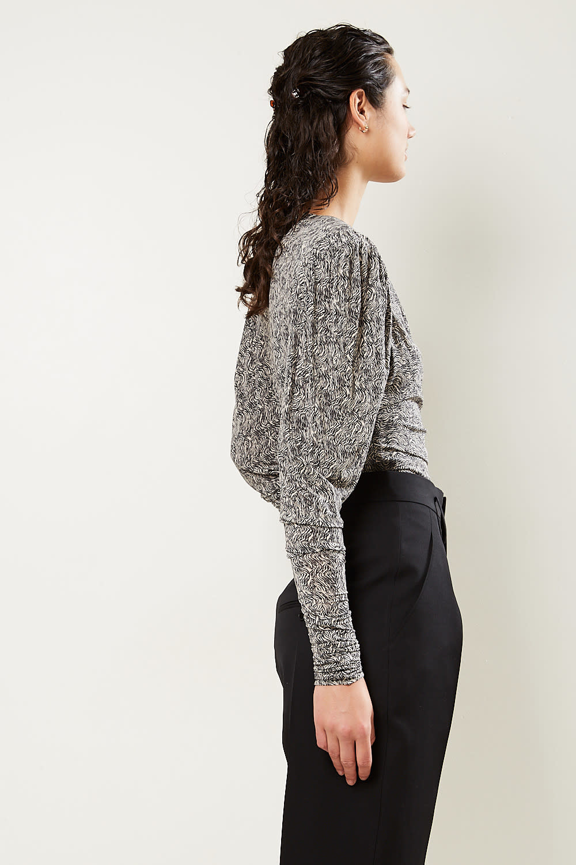 Isabel Marant - Gimli printed jersey top