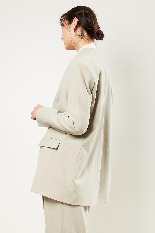 Aeron Anjali loose fit slit back jacket