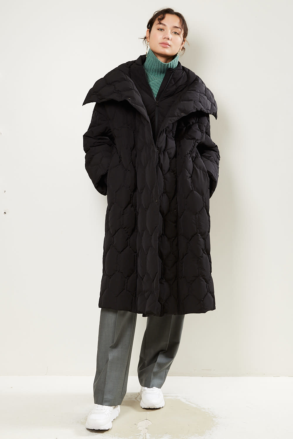 Christian Wijnants - Cawil oversized quilted coat