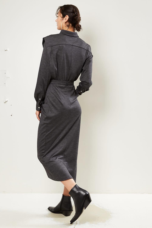 Isabel Marant - Ginkao draped wooly skirt