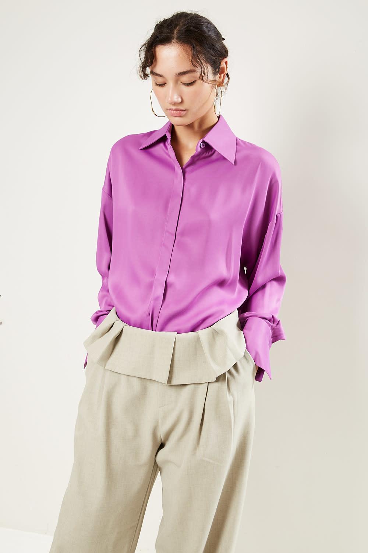 Aeron - Guido recycled satin shirt