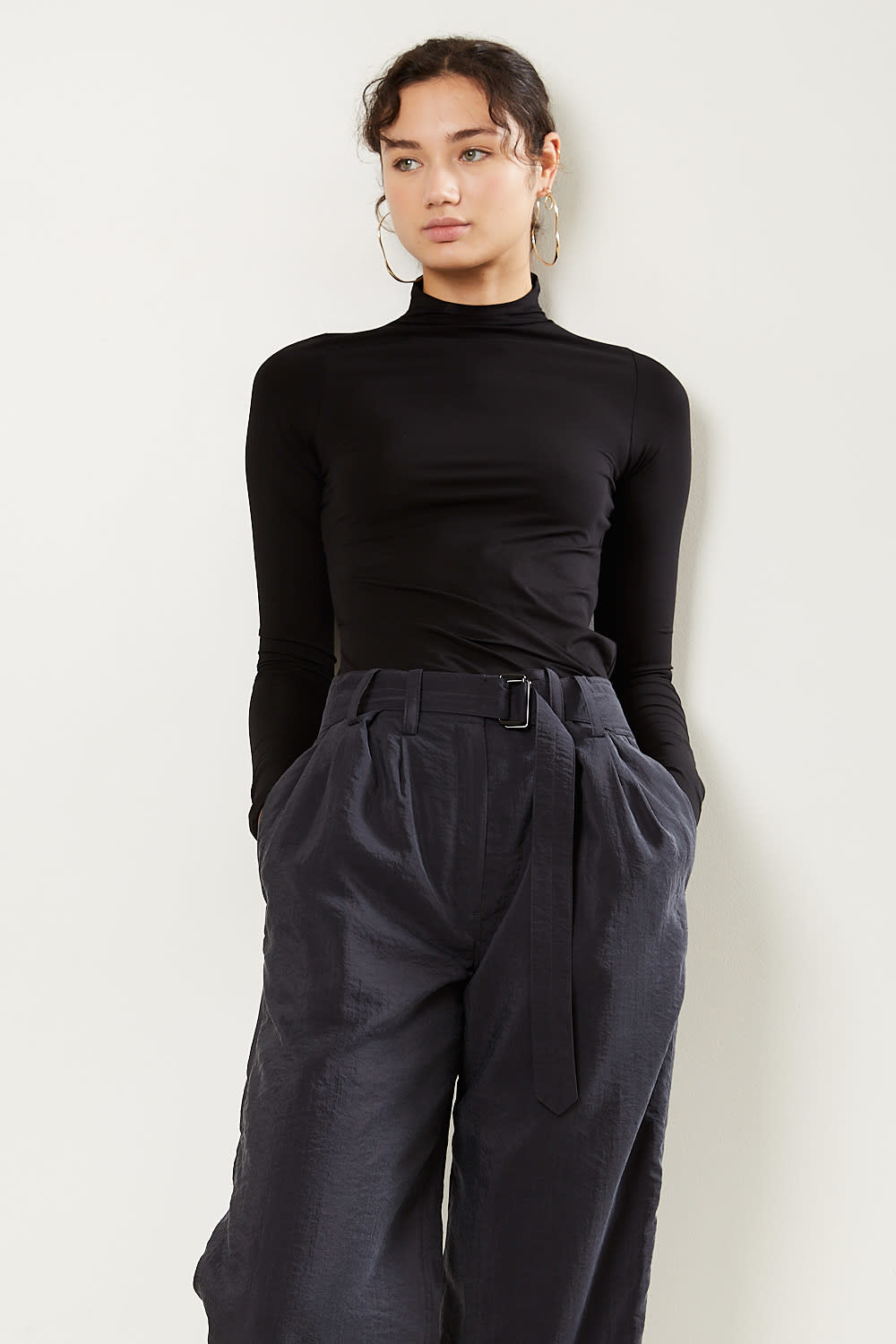 Lemaire - High collar twisted second skin