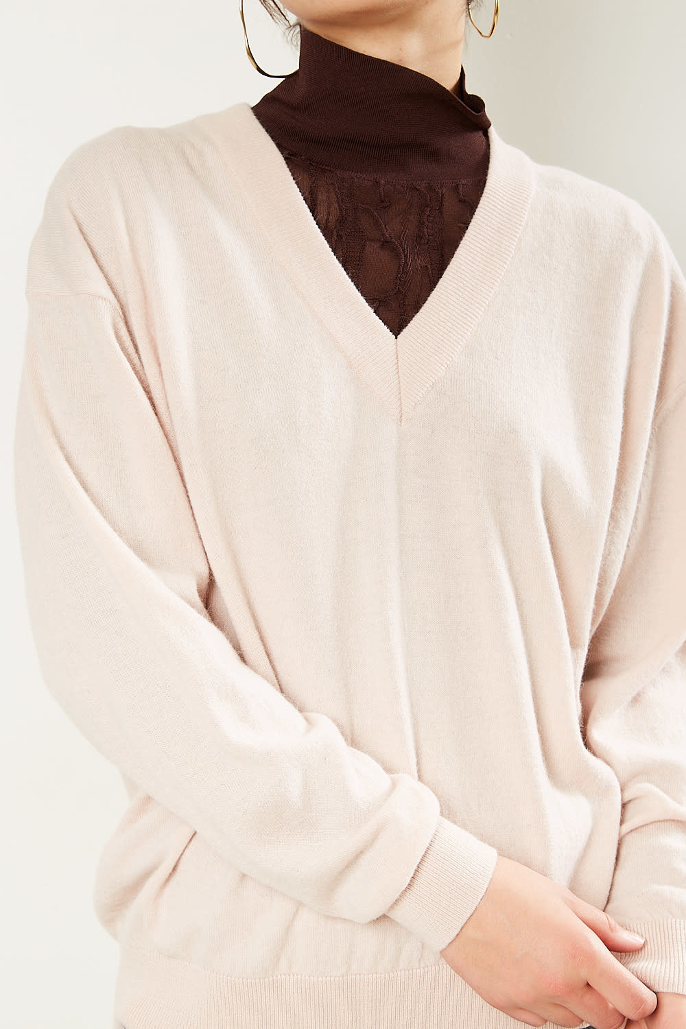 Christian Wijnants - Khage oversized v neck sweater