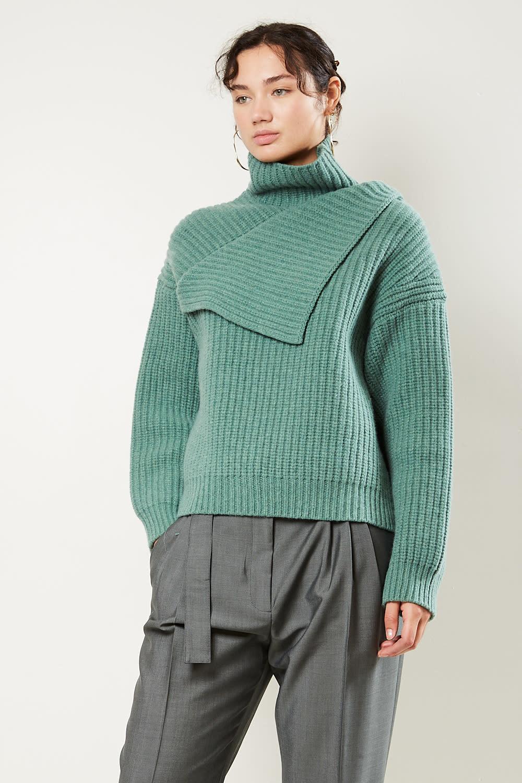 Christian Wijnants - Kundan oversized lambswool sweater