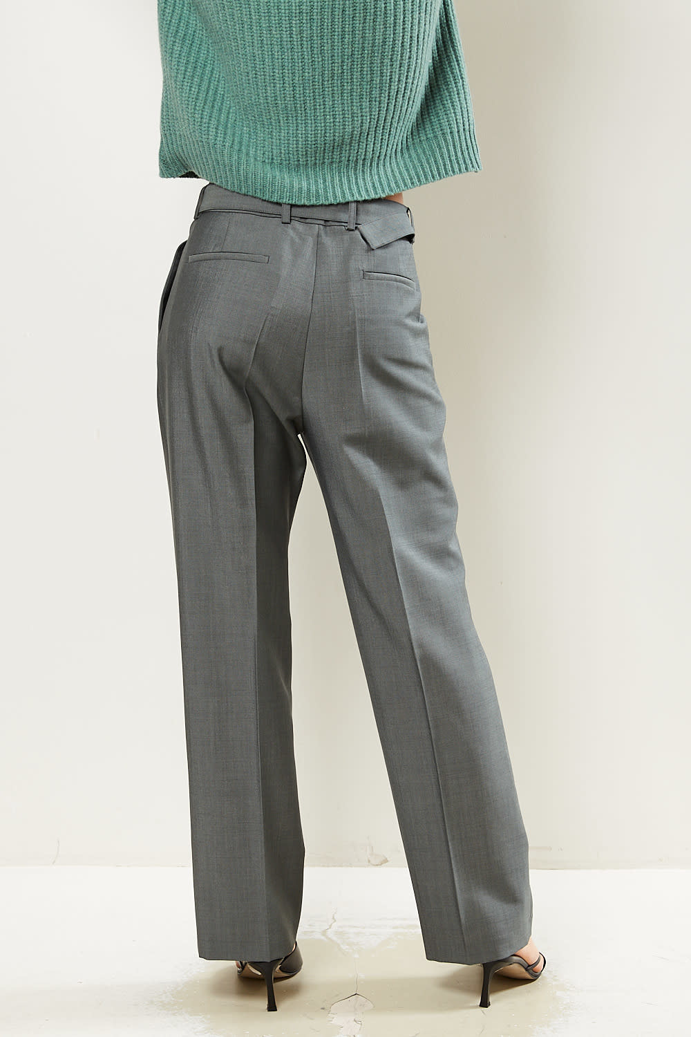 Christian Wijnants - Pahal belted tailored trousers