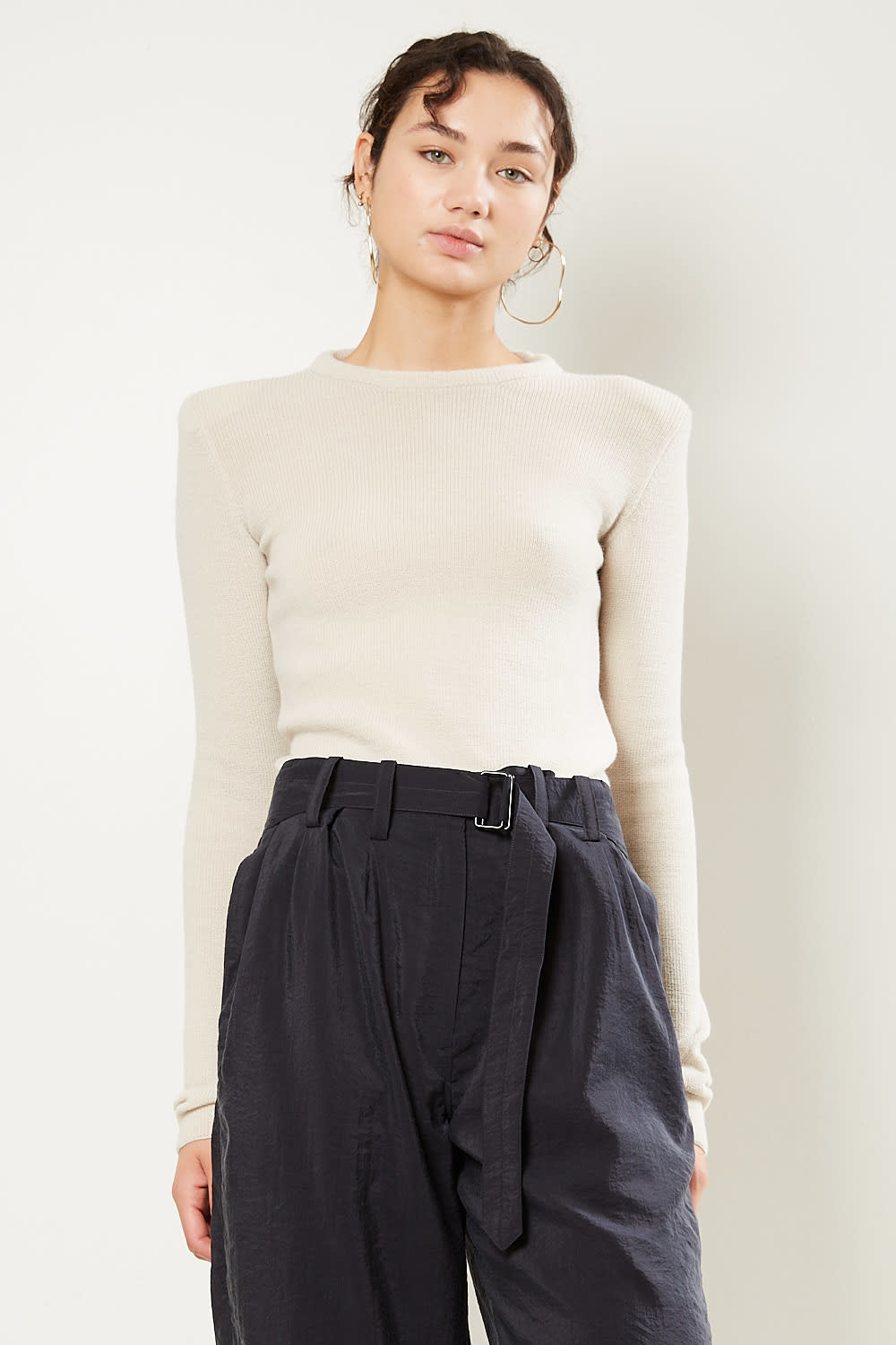 Lemaire Shoulder pad top