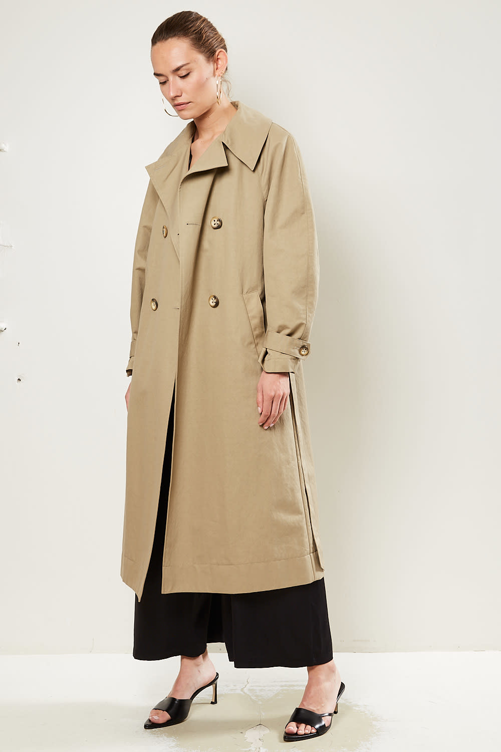 Les Coyotes de Paris - Ruby cotton blend coat