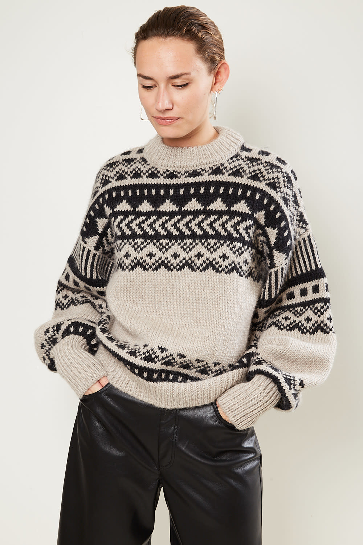 loulou studio - Asco wool alpaca superfine sweater