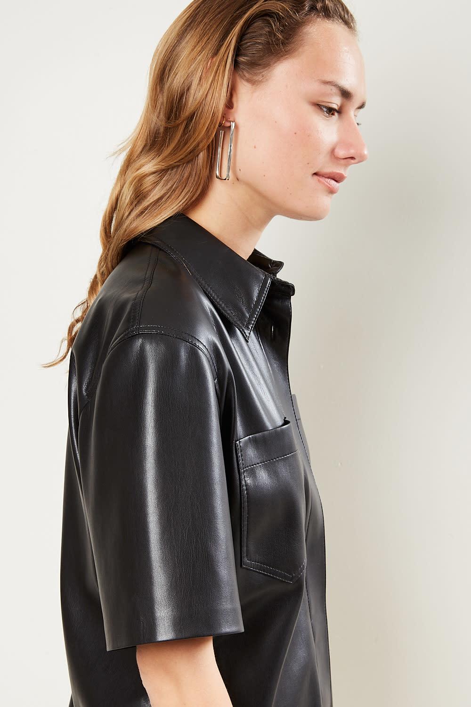 Nanushka - Berto vegan leather dress