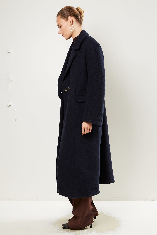 Ganni - Double wool coat