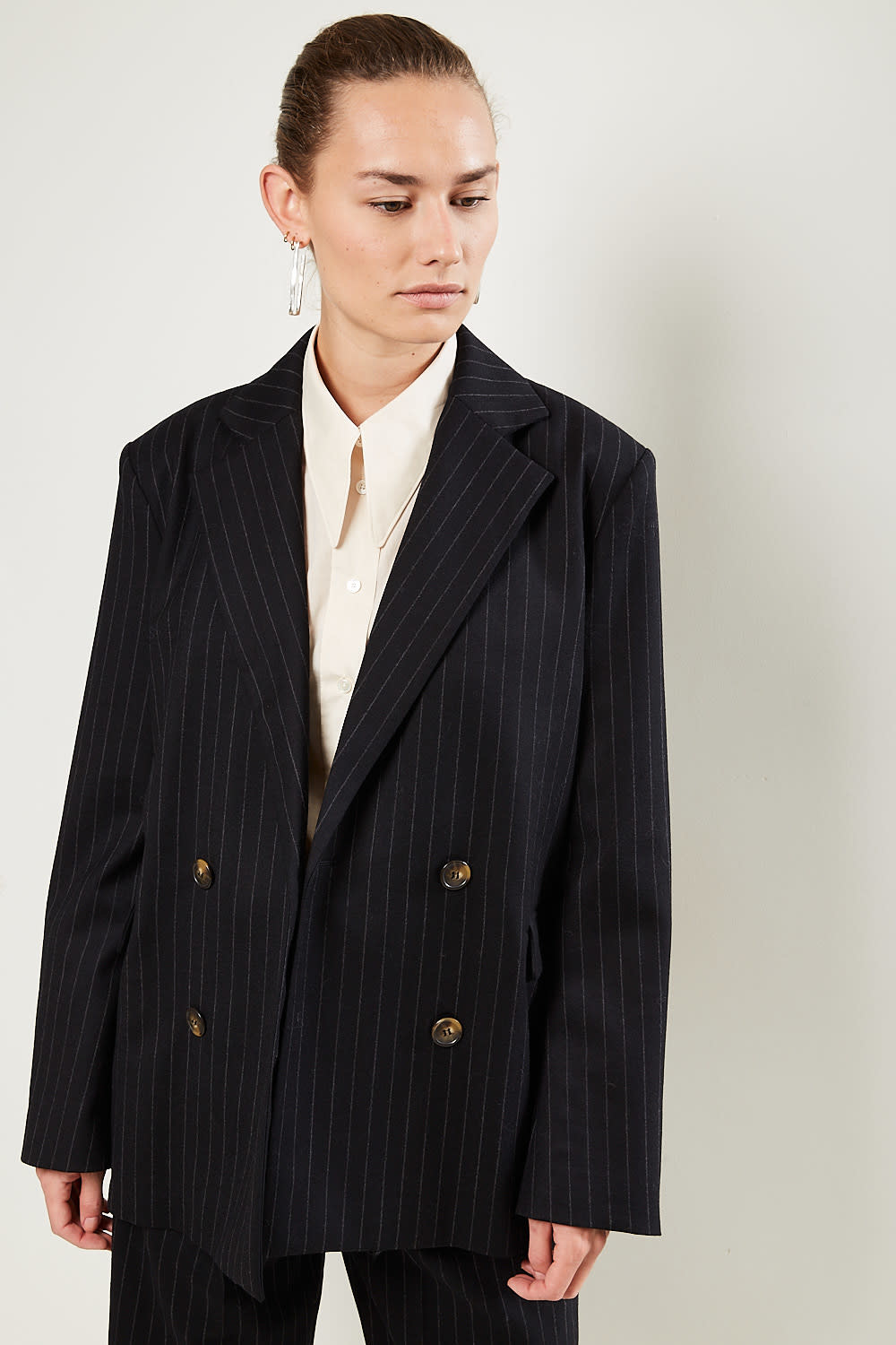 loulou studio - Ficaja wool jacket