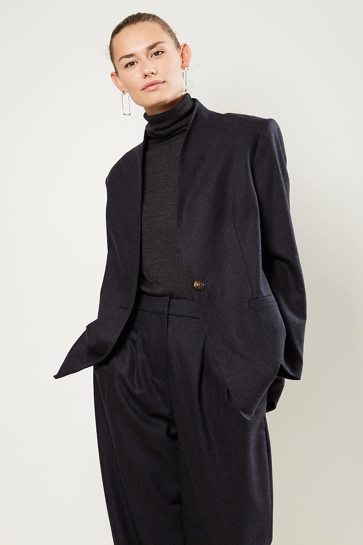 loulou studio - Folaca wool cashmere jacket