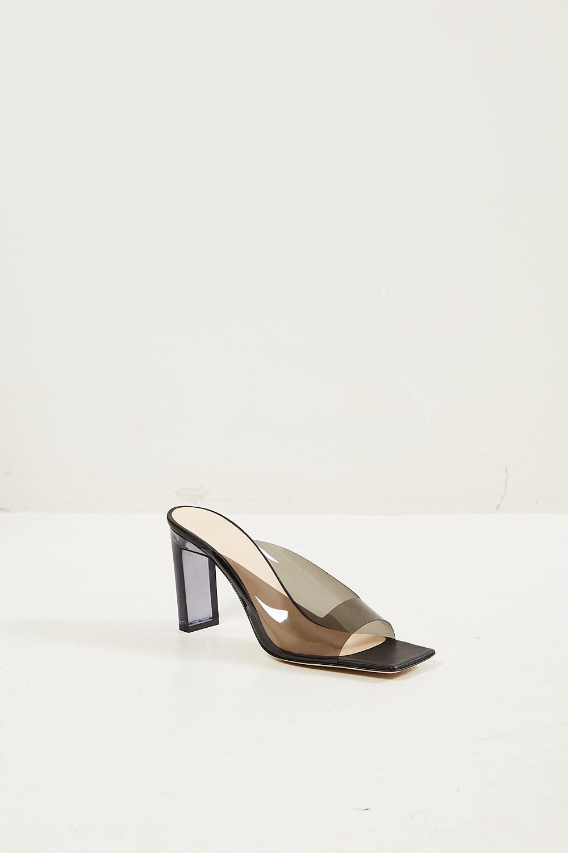 Wandler Isa clear sandal
