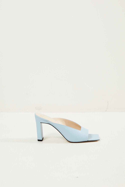 Wandler - Isa lambskin leather sandal