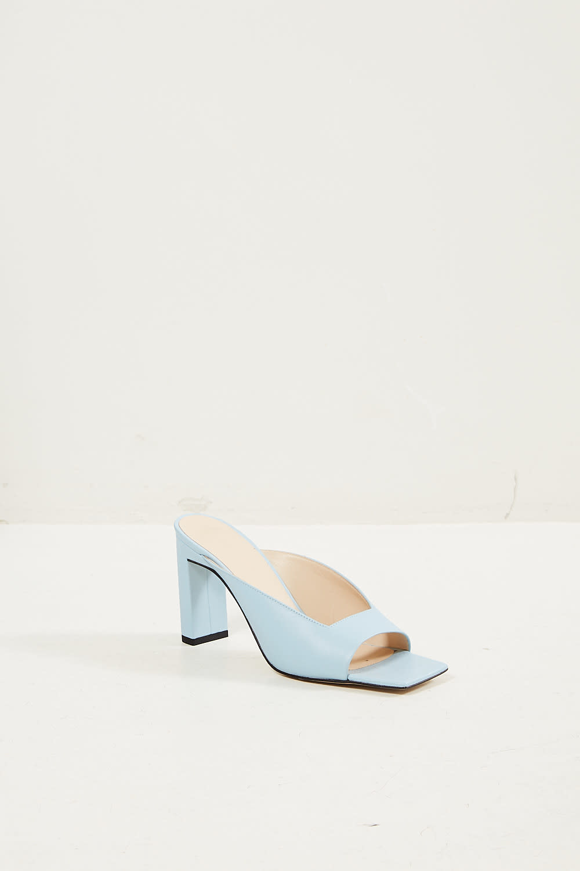 Wandler Isa lambskin leather sandal