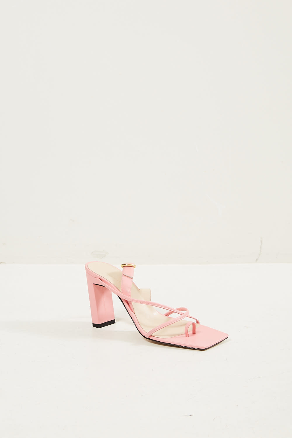 Wandler - Elza lambskin leather sandal