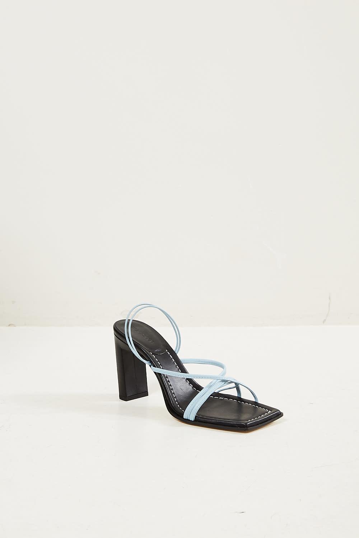 Wandler Joanna lambskin leather sandal
