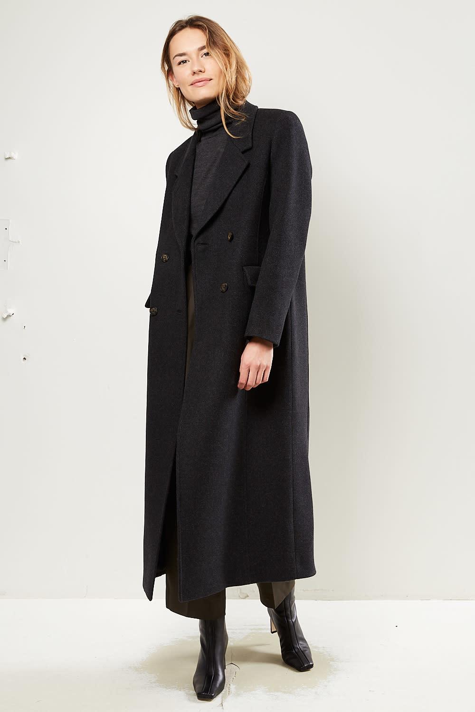 Ganni - Outerwear wool coat