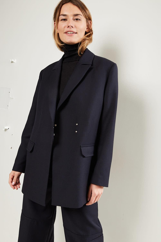 Ganni Wool suiting jacket