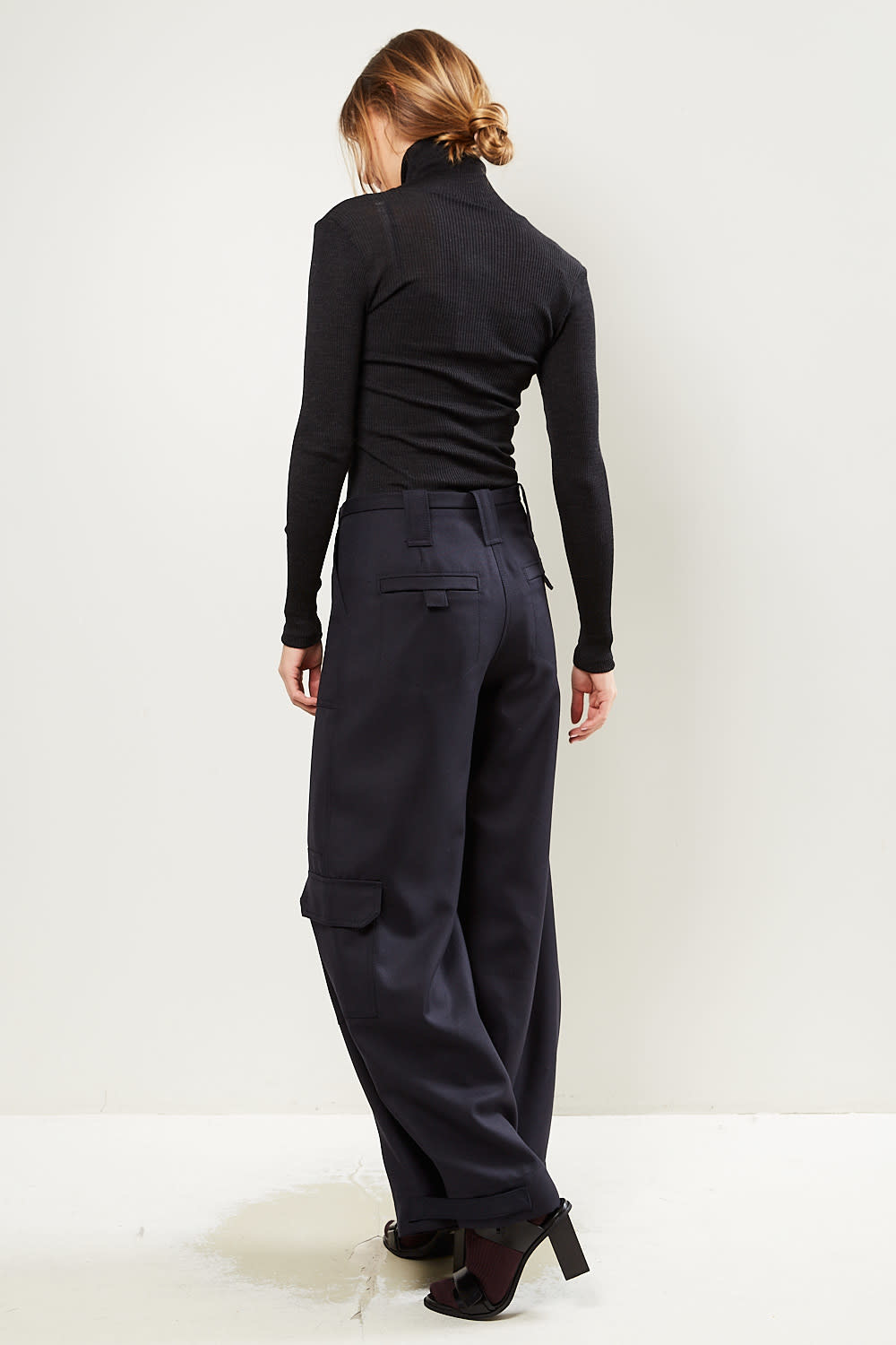 Ganni - Wool suiting pants