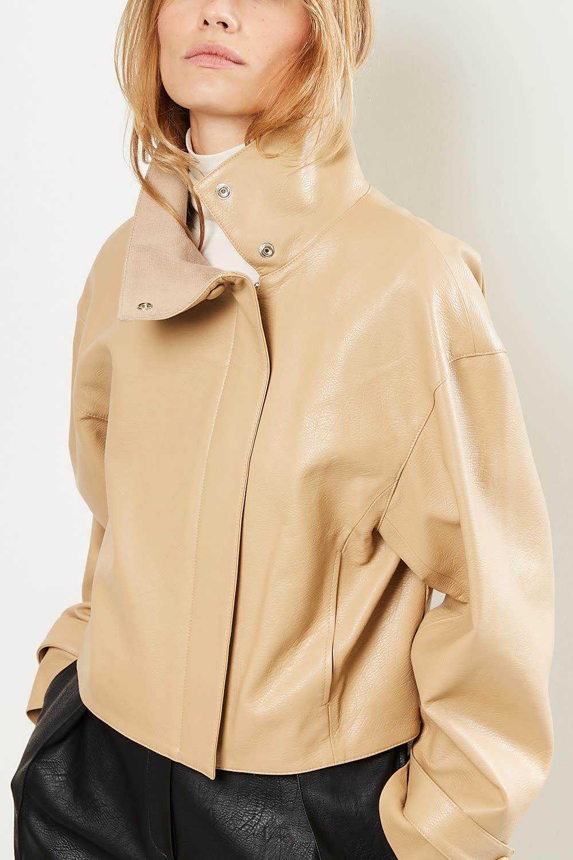 Drae - Ian faux leather jacket