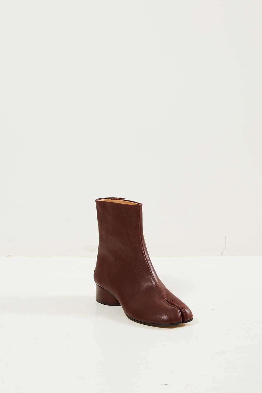 Maison Margiela Tabi vintage soft leather boots