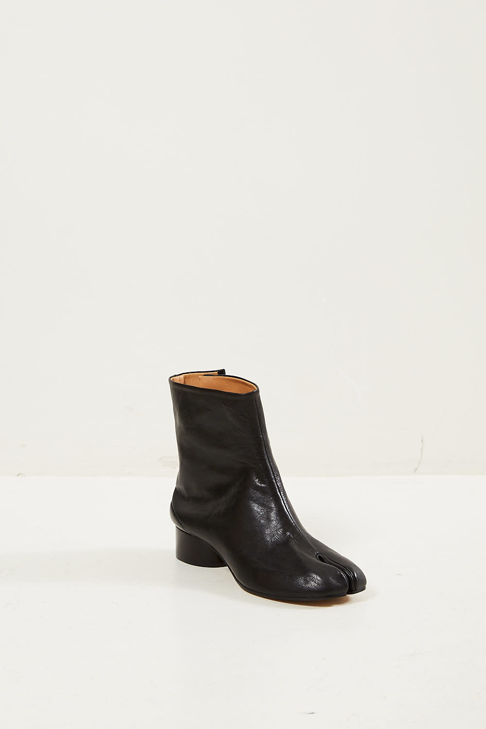 Maison Margiela Tabi vintage leather boots