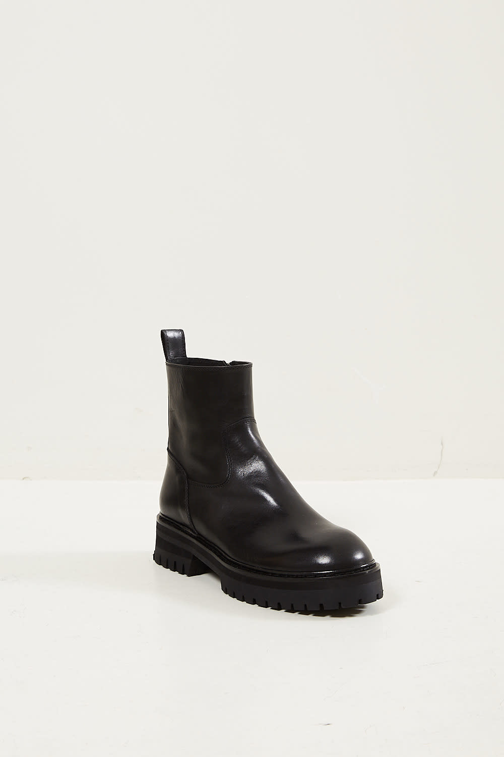 Ann Demeulemeester - Tucson leather boots