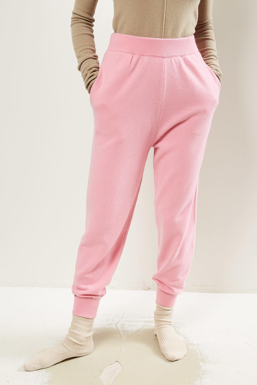 extreme cashmere - No56 YOGI slim jogging pants