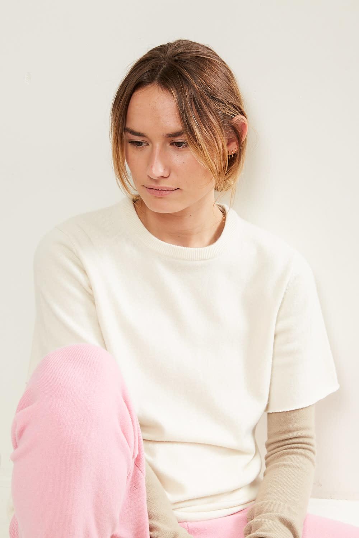 extreme cashmere - No64 classic unisex tshirt cream