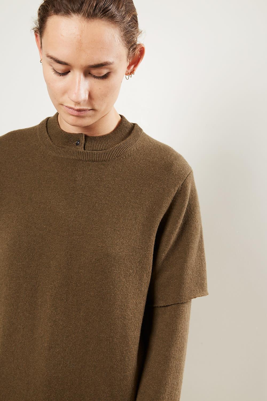 extreme cashmere - No64 classic unisex tshirt brown