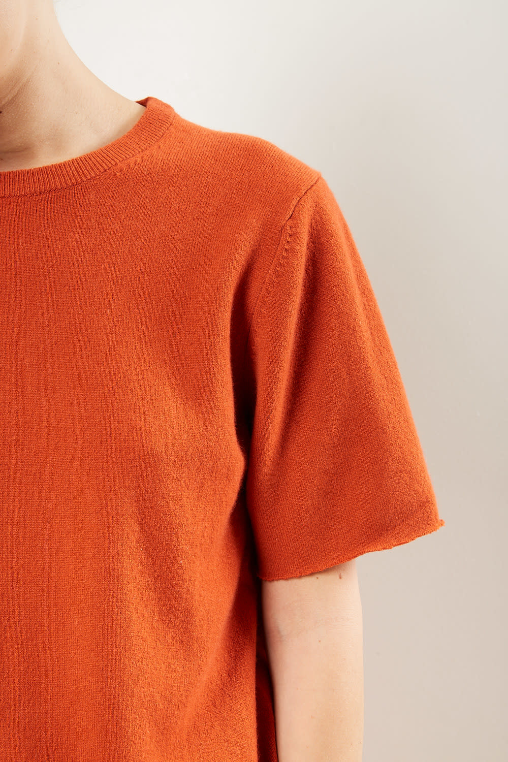 extreme cashmere - No64 classic unisex tshirt dark orange
