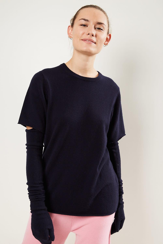 extreme cashmere - No64 classic unisex tshirt navy