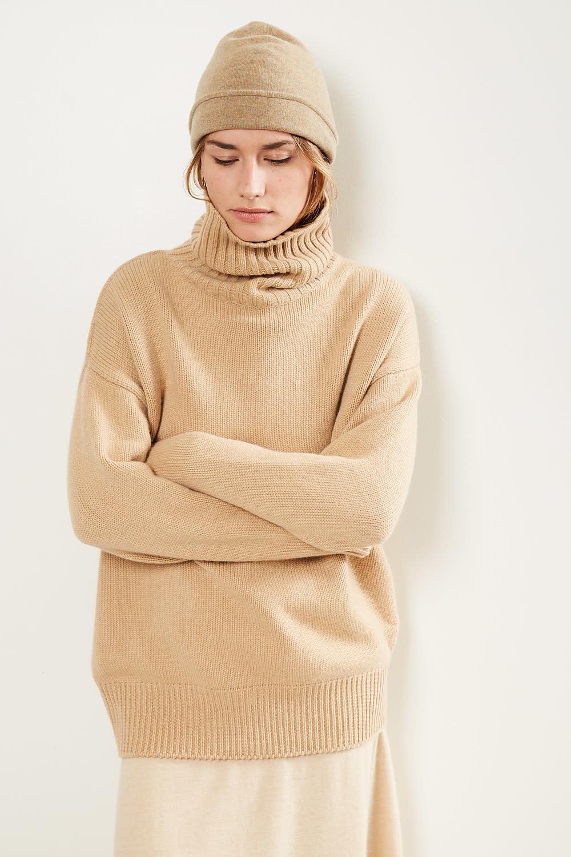 extreme cashmere - No20 oversize xtra oversize sweater camel