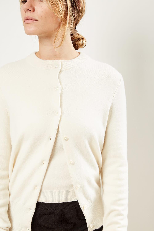 extreme cashmere - No99 little cardigan cream
