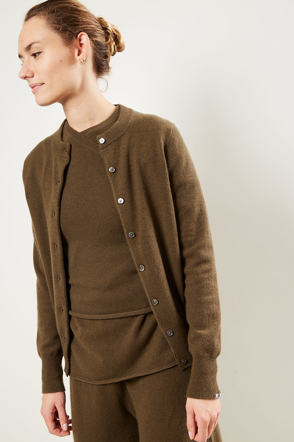 extreme cashmere - No99 little cardigan brown