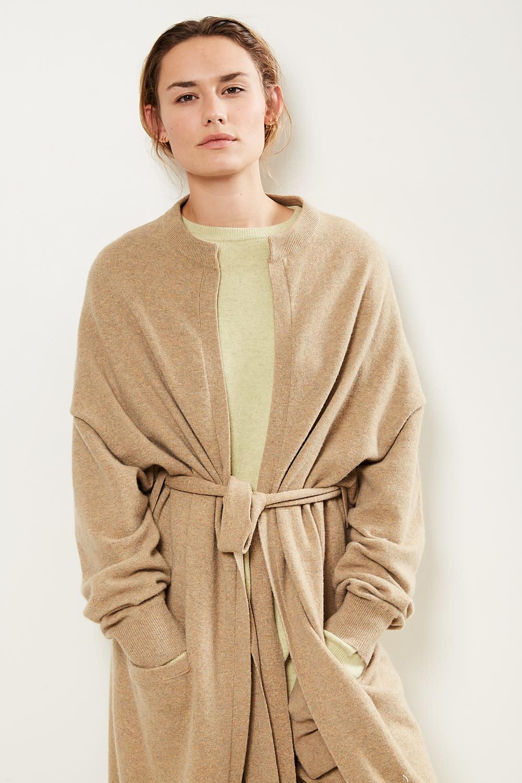 extreme cashmere - No105 big coat long cardigan