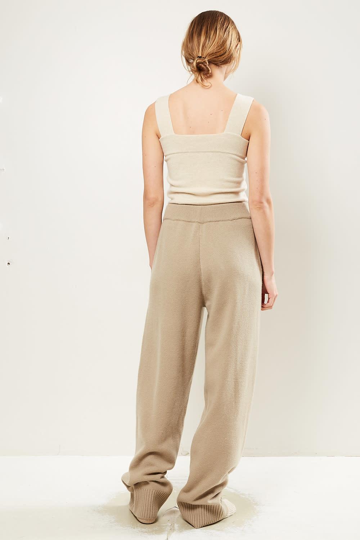 extreme cashmere - No118 zubon wide leg pants