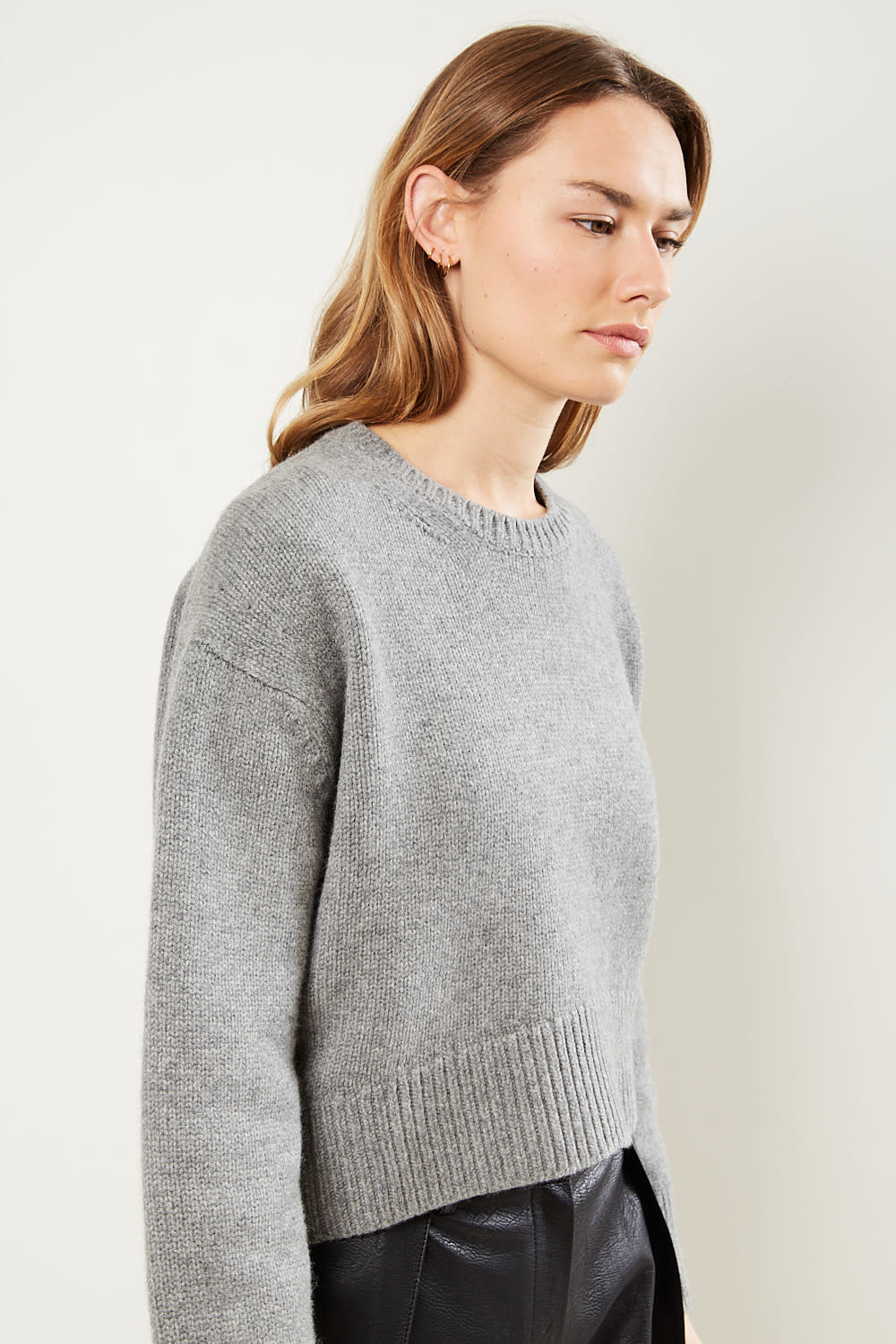 Drae - Cashmere round knit pullover
