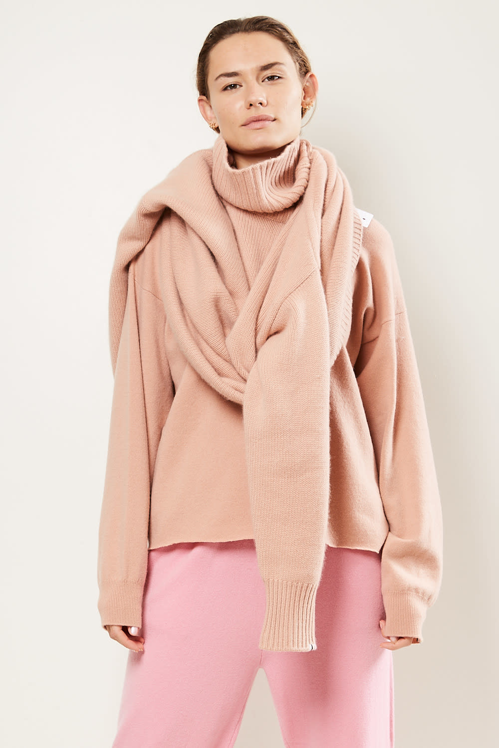 extreme cashmere - No20 oversize xtra oversize sweater tea rose