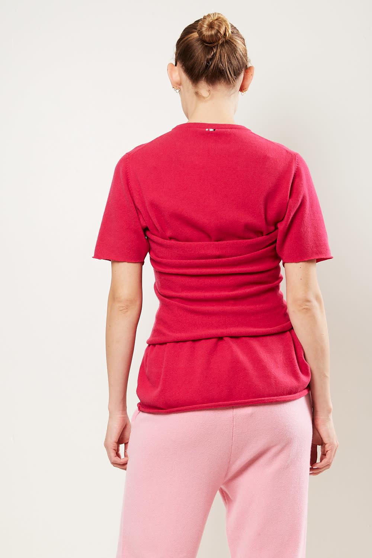 extreme cashmere - No8 rectangle shaped belt kiss