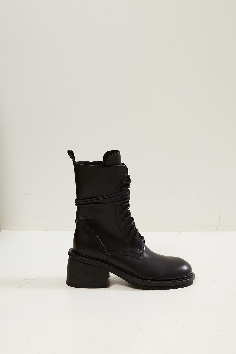 Ann Demeulemeester - Tucson lace up leather boots