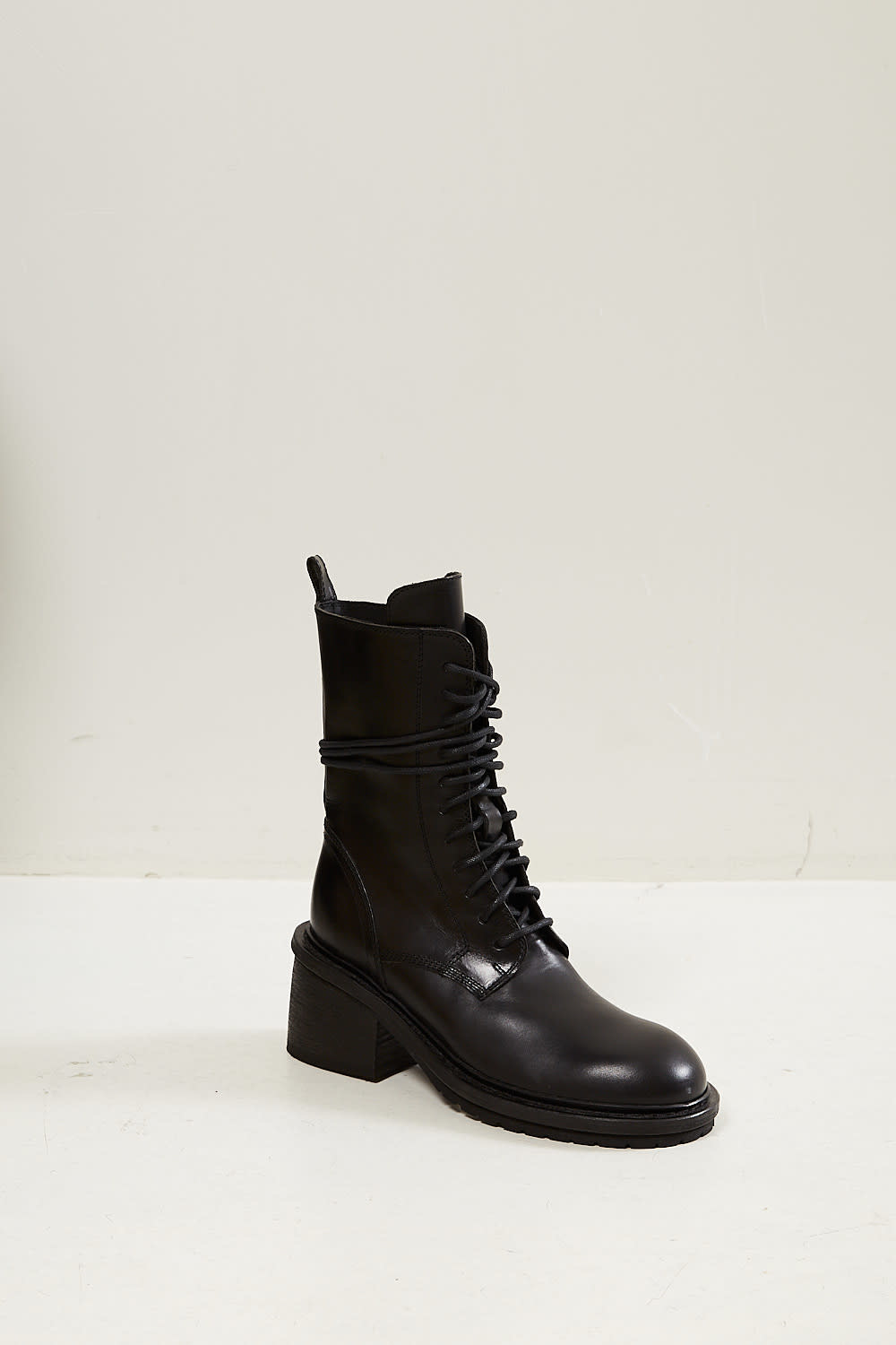 Ann Demeulemeester Tucson lace up leather boots