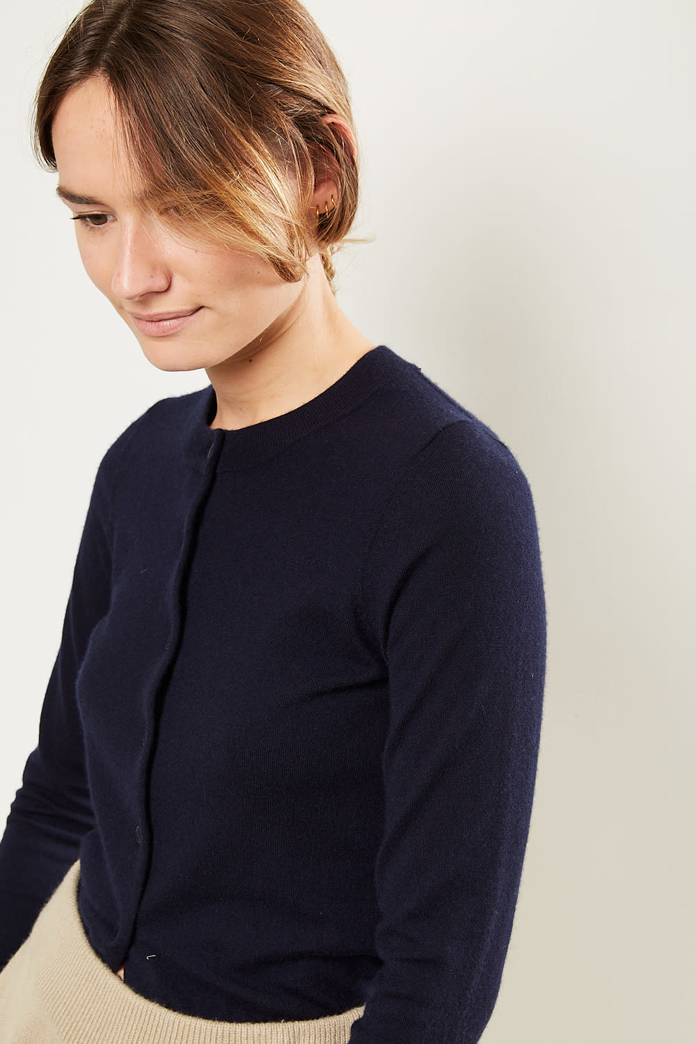 extreme cashmere - No99 little cardigan navy