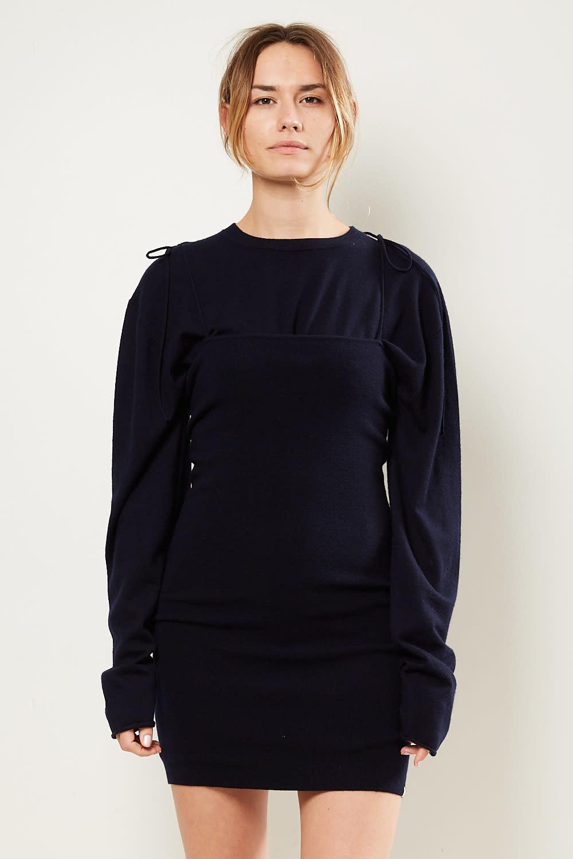 extreme cashmere Kate 2/60 cashmere skirt dress