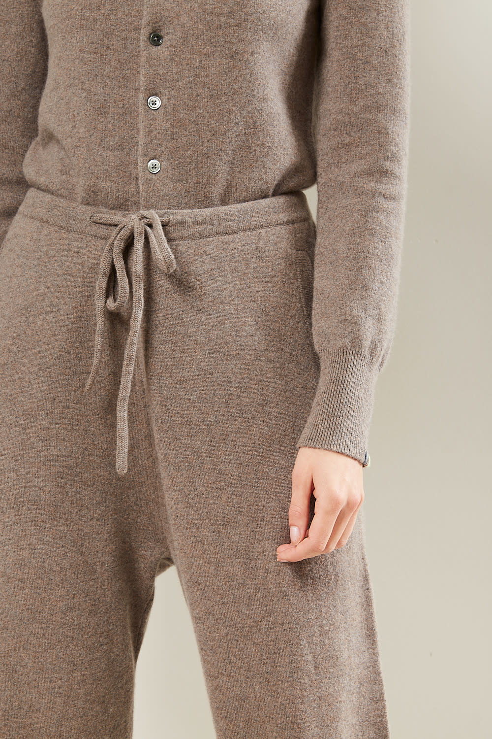 extreme cashmere - Run cashmere pant