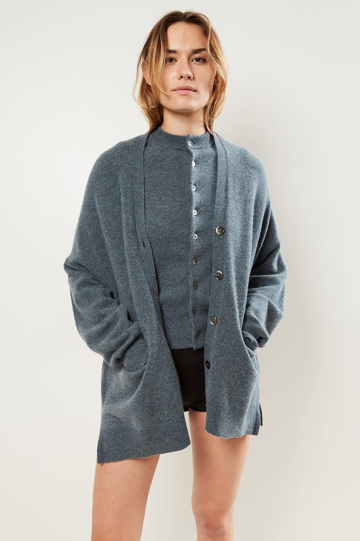 extreme cashmere Tokio cashmere cardigan